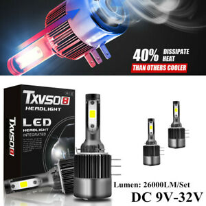 110W 6000K Car H15 HID LED Headlight 26000LM Bulb 360 °Angle Light Auto COB Lamp