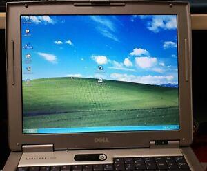 "Dell Latitude D505 Laptop 14.1"" Intel Celeron 1.40GHz 1GB RAM 30gb hdd"