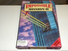 1988 EPYX Impossible Mission II IBM PC Compatibles (NEW-SEALED)