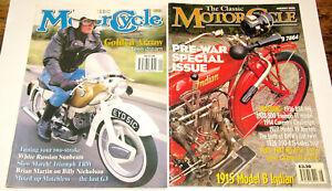 The Classic Motorcycle Magazine Zeitschrift  1994 / 98
