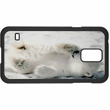 Playful Polar Bear Cub Hard Case Cover For Samsung New