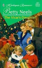 The Vicar's Daughter by Betty Neels (Harlequin #3527) (1998, Paperback) FF2353
