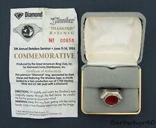 1994 The Shadow Silver Ring #658 of 1750 Diamond Comic Distributors
