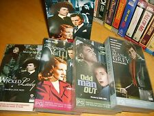 VHS *JAMES MASON COLLECTION* RARE Australian Roadshow Special Edition Box Set(4)