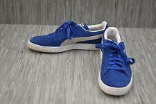 ** Puma Suede Classic Casual Sneaker - Men's Size 12, Blue