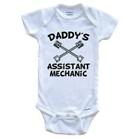 My Daddy Changes His Own Oil Funny Baby Onesie One Piece Baby Bodysuit