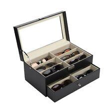 12 Brillen Brillenbox Brillenaufbewahrung Brillenkoffer Case Brillenpräsentation
