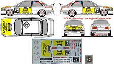 #113 BMW M3 E30 DTM 1991 Maggiorelli Valier Decal 1/43 für Minichamps & IXO