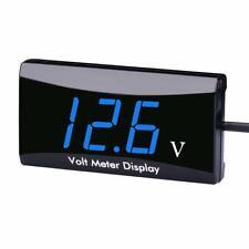 12v Digital Led Display Voltmeter Voltage Gauge Panel Meter Cars Motorcycle Atv