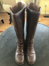 BOC BY BORN Women's Brown Fashion Knee High Riding Boots Size 11