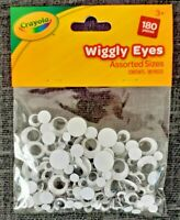 Crayola Crafts Sets Kids -Brand new sealed pack of 180 Assorted Wiggly Eyes