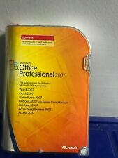 Microsoft Office Professional 2007 Upgrade Word Excel Outlook Access Accounting