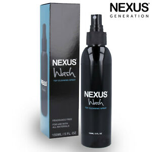 Nexus Wash Antibacterial Toy Cleaner Cleaning Spray Antibatterico Per Sex Toys