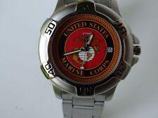 USMC Insignia Military Watch Armbanduhr US Army Marines USMC Vietnam WK2 WWII