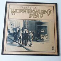 Grateful Dead - Workingman's Dead - Vinyle LP GB 1981 Poids Lourd Press Ex NM