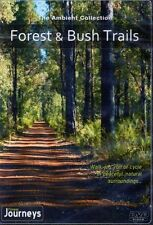 FOREST & BUSH TRAILS VIRTUAL WALK WALKING TREADMILL WORKOUT DVD AMBIENT COLL