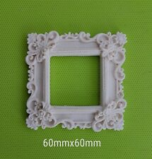 Decorative resin mouldings furniture applique shabby chic onlay ornate frame