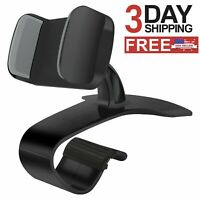 Car Dashboard HUD Cell Phone Holder Mount 360 Degree Rotating For iPhone Samsung
