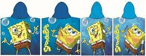 SpongeBob SquarePants Kids Boys Girls Hooded Beach Towel Poncho