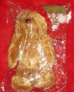 "Bear Sentiments Chewy 6"" Christmas Bear"