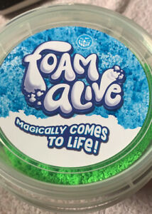 Foam Alive Magically Comes To Life- No Mess Never Dries Out- New ⭐️ 3+ Free Ship