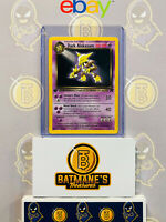 Dark Alakazam 18/82 1st Edition NM Near Mint Team Rocket Non-Holo Pokemon Card