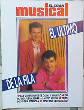 EL GRAN MUSICAL: ESPECIAL :- EL ULTIMO DE LA FILA !!!!!(SPANISH MAGAZINE)