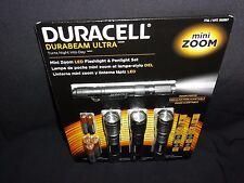 LED Mini Zoom Flashlight & Pencil Set by Duracell