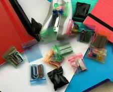 Pochon/Sachet plastique zip coloré 30x30mm / Neuf / Livraison Rapide