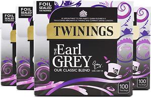 Twinings Earl Grey Tea 400 Bags Multipack of 4 x 100 Bags