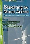 Educating For Moral Action: A Sourcebook In Health And Rehabilitation -ExLibrary