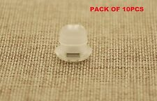 10PCS DAIHATSU DASH BOARD TRIM INSERTS CLIPS GROMMETS CLEAR INTERIOR OVAL SHAPE