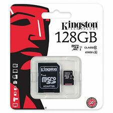 MICRO SD 128GB  KINGSTON  CL10 45MB/S SCHEDA CELLULARE TABLET IPHONE