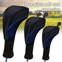 Golf Schlägerhaube Holz Headcover Long Neck 1# 3# 5# Kopfabdeckung Abdeckung