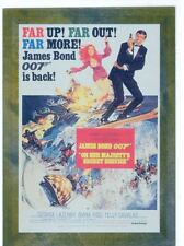 James Bond Connoisseurs Collection Volume 1 Metalworks Poster Chase Card P06