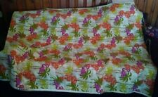 Retired Pink Flamingo Upholstery Fabric Screen Print by Solarium In or Outdoor