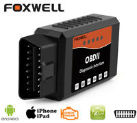 FOXWELL WiFi OBD2 Scan Tool For iPhone/Android Car OBDII Engine Data Code Reader