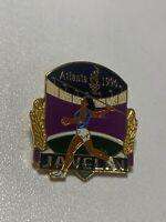 Vintage 1996 USA Atlanta Olympics Javelin Pin - Olympic Games Pinback VTG NEW