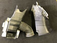 BMW E46 M3 OEM (2001-2006) LEFT + RIGHT BRAKE AIR INLET DUCTS + BRACKETS