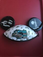 Disney D23 Expo 2015 Mickey Mouse Ear Hat Limited Edition Disneyland Park RARE