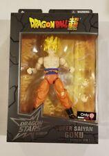 SUPER SAIYAN GOKU BATTLE DAMAGE Dragon Ball Dragon Stars Gamestop Excl *DMG Box*