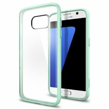 Galaxy S7 Case Genuine Spigen Ultra Hybrid Soft Bumper Cover for Samsung MINT