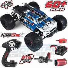 ARRMA 1/8 Nero 6S BLX 4WD Brushless Monster Truck w/Diff Brain BLUE RTR AR106011