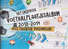 Album empty / leer / leeg / new Het Eredivisie Voetbalplaatjesalbum 2018-2019 AH