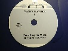 VANCE HAVNER, NO 3 OF 34 AUDIO SERMONS, MP3 one CD