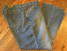 Lee Riders Womens Plus Size 20W M  Denim Blue Jeans Pants