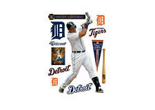 "Miguel Cabrera FATHEAD LIFESIZE REAL BIG 3'11 x 7'0"" MLB Graphics TIGERS +EXTRAS"