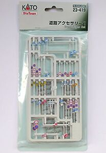 Kato N Scale Dio Town 23-419 Road Accessories Set 1