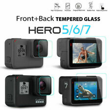 For Gopro Hero 7 Black Camera Accessories Lens&Screen Protector Film Protective