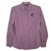 Cruel Girl Womens Size XXL Shirt Blouse Snap Button Front Long Sleeve Striped